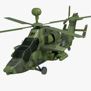 eurocopter tiger uht 3d model