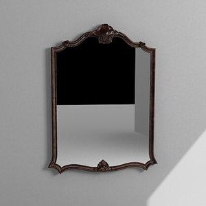 3d max wall mirror