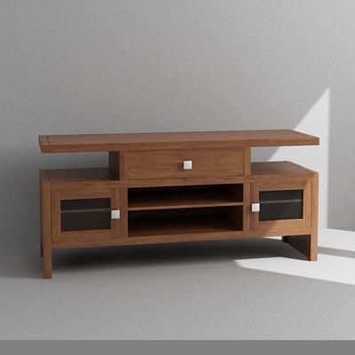 3d media cabinet model