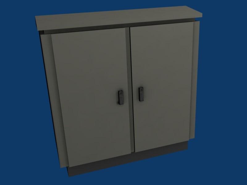 3d model junction box