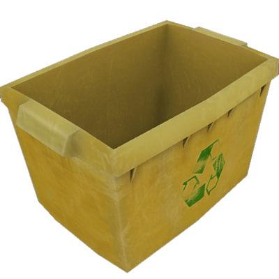 3d model bin recycling