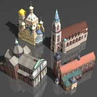 building church 3d max