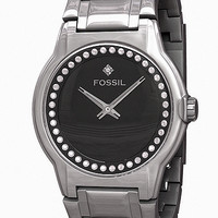 Fossil FS4418 Analog Black Dial Watch.max