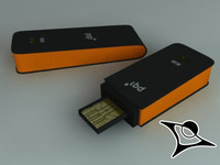 USB 8GB orange