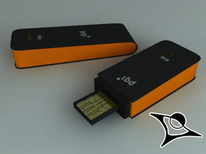 usb rendered 3d max