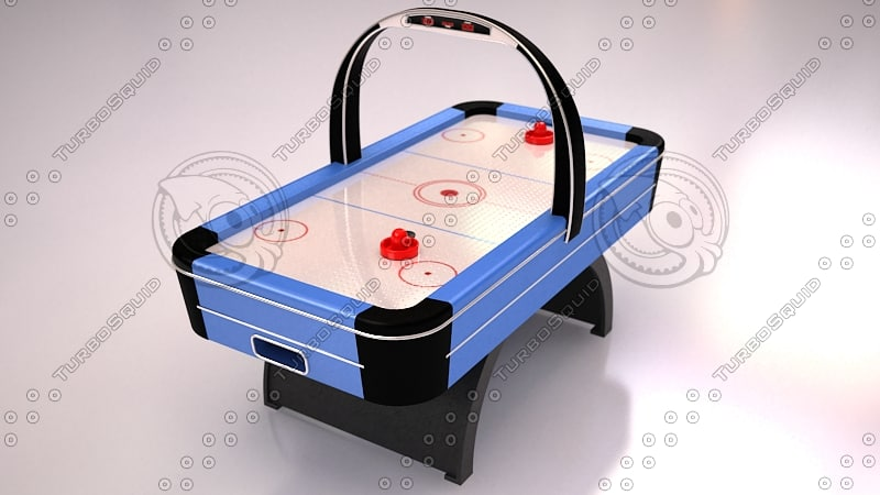 3dsmax air hockey table