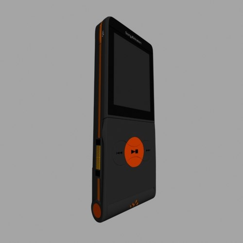 sony ericsson 3d model