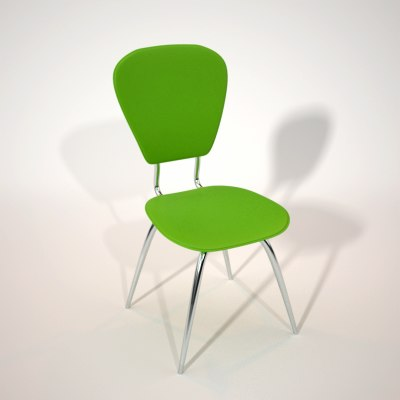 3d model chair maxwell