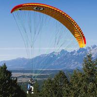 3d model paraglider