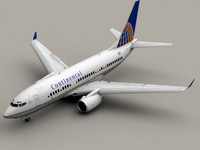 BOEING 737-700 Continental Airlines