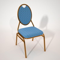 chair maxwell 3d obj