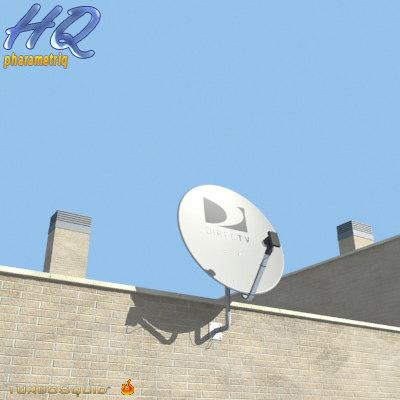 antenna 02 3d max