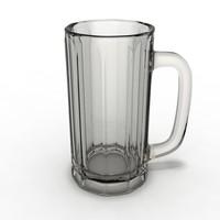 beer mug 3d model