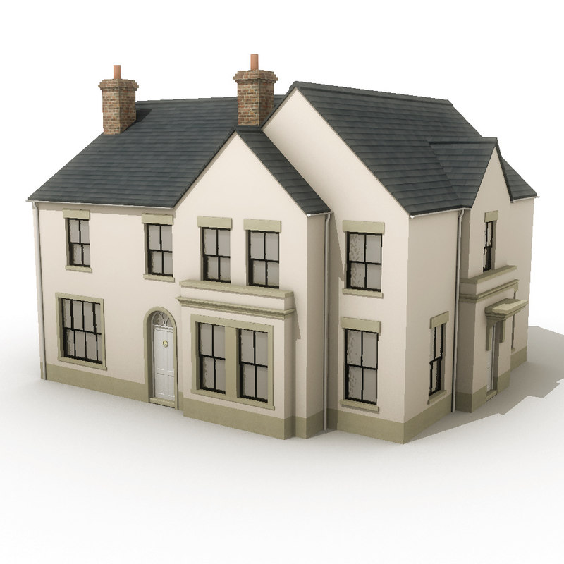 3d model house residential