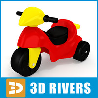 Toy motorbike by 3DRivers