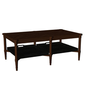 3dm cocktail table lower removable