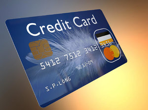 3d universal credit card model