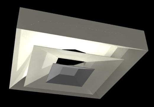 3d model 2x2 diffuser