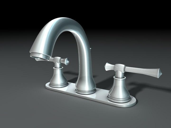 3d model of faucet-1 faucet
