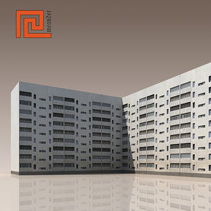 building modelled 3ds