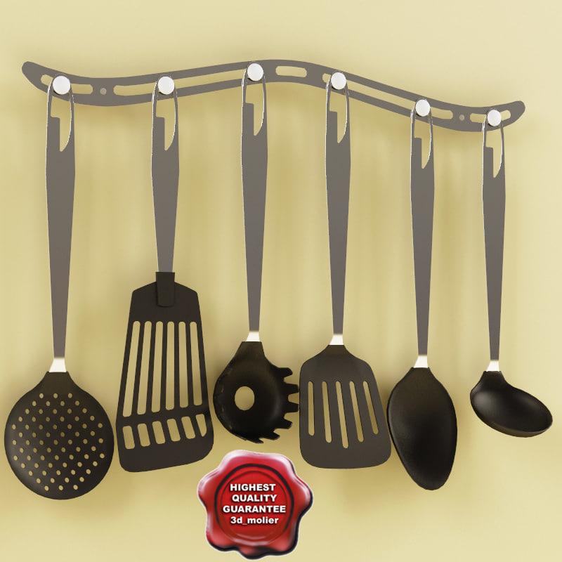 3d c4d kitchen tools