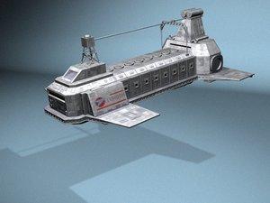 london bbc blakes 3d model