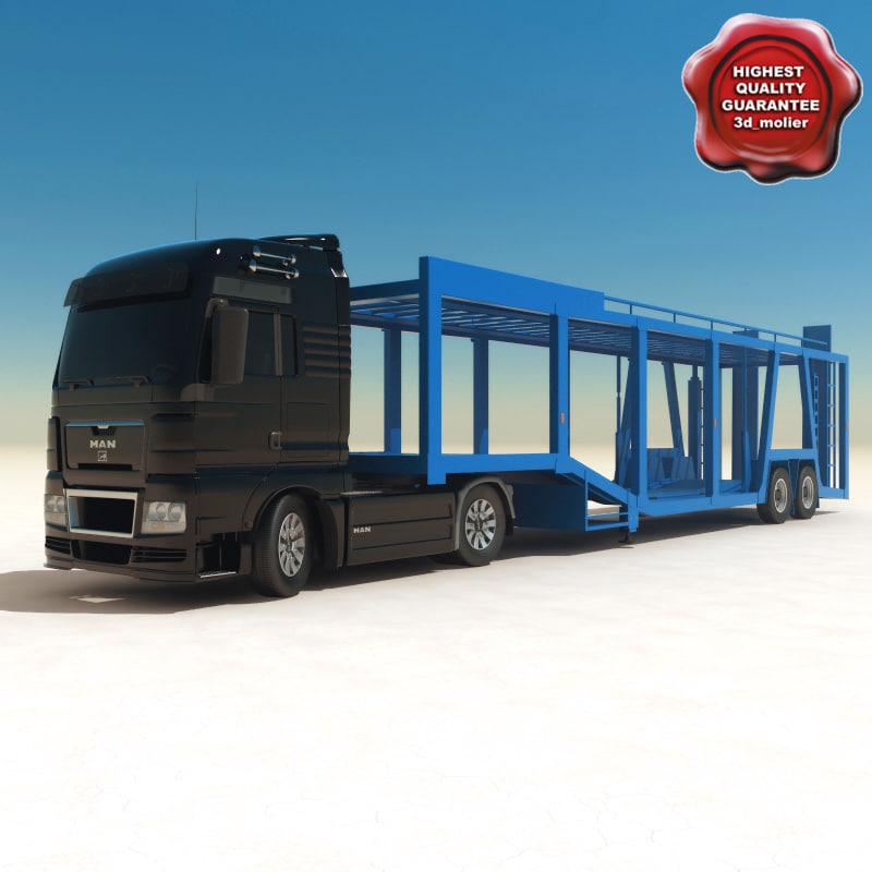 man car carrier 3d model