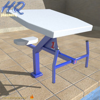pool starting block 01 3d 3ds