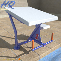 pool starting block 04 3d max
