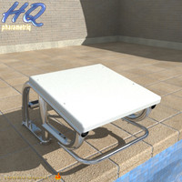 3d model pool starting block 06