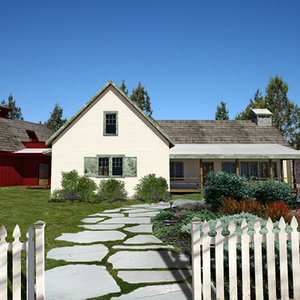 old ranch style house 3d model
