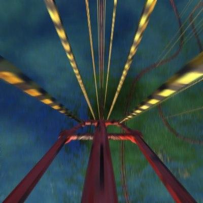 roller coasters 3d max