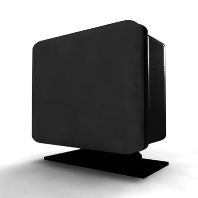 3d model speakers organization