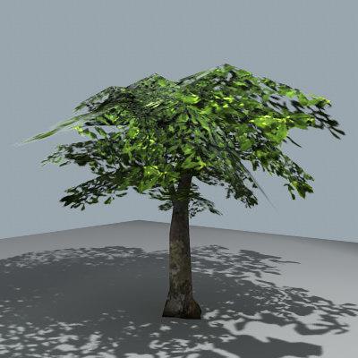 maya simple tree
