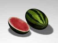 3d watermelon water melon