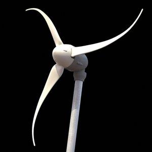 wind generator 3d lwo