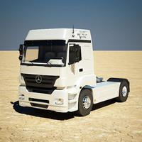 3dsmax semi truck