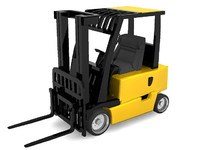3d model forklift lift