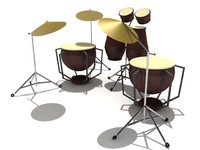 max drum set percussion