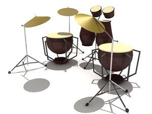 max drum set percussion