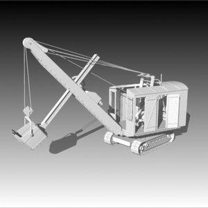 3d erie power shovel model