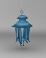 3d model hanging lantern