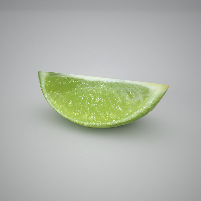 lemon slice 3d dxf
