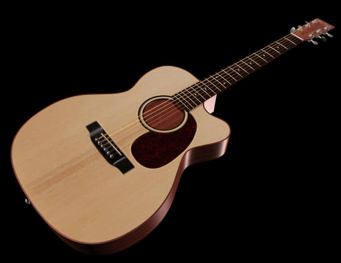 x acoustic guitar 3d model