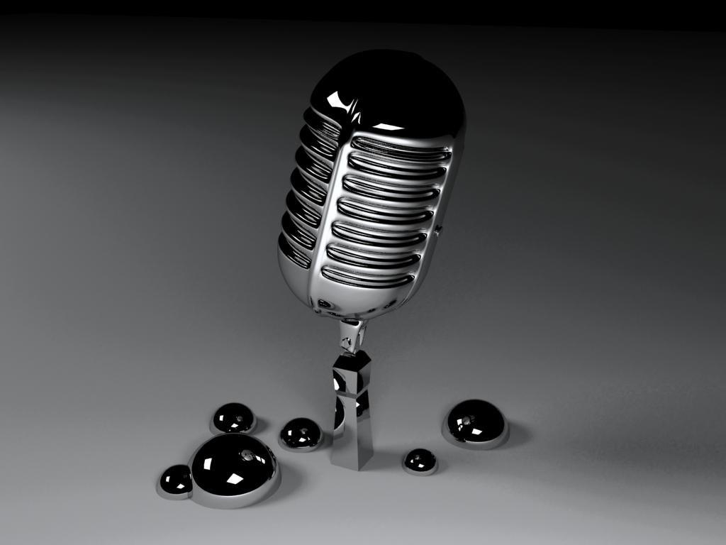 free microphone micro mic 3d model