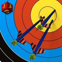 free arrows target 3d model