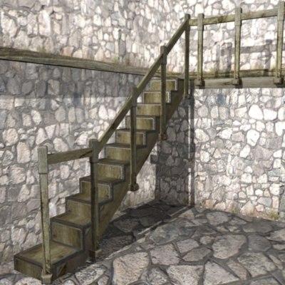 maya old staircase