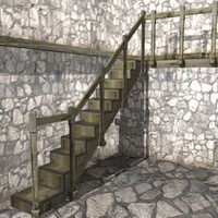 maya old staircase