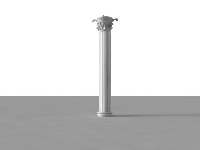 3d pillar architecture -