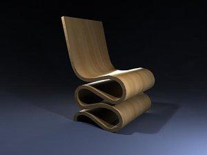 obj modern wiggle chair o